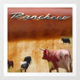 ranchero. 2019 Art Print