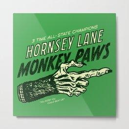 Monkey Paws Metal Print