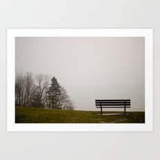 Foggy View Art Print