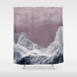Sands of Lavender Shower Curtain