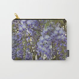 Wisteria Flowers Carry-All Pouch