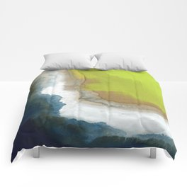 Surf Abstraction Comforters