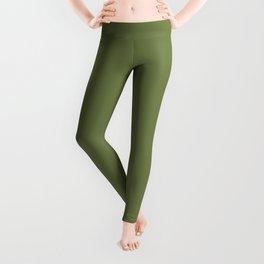 Blonde Beauty ~ Field Green Leggings