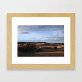 Montana/WY border Framed Art Print