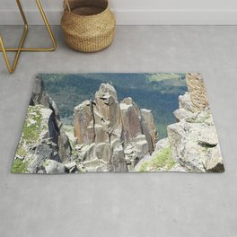 Valley View from Above Landscape Rug