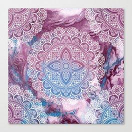 Psychedelic Mandala Canvas Print