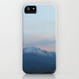 Pikes Peak in the Evening iPhone Case