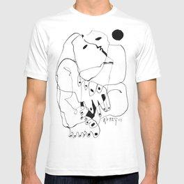 Purification of the Soul - b&w T-shirt