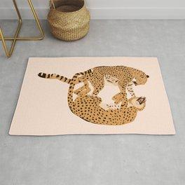 Cheetah Cuddles Rug
