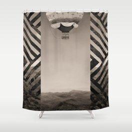 Jungle Rescue Vintage Shower Curtain