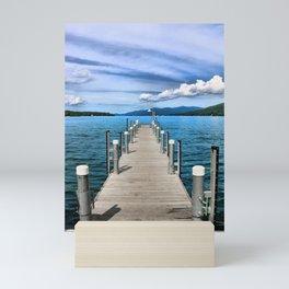 Stepping to the Sea Mini Art Print