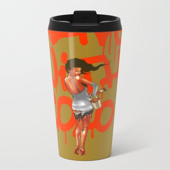 Alive with Color Metal Travel Mug