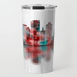 Salt Lake City Utah Skyline Travel Mug