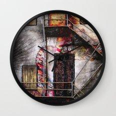 Urban Building Wall Clock