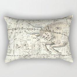 Taurus Zodiac, Celestial Atlas Plate 14, Alexander Jamieson Rectangular Pillow