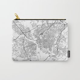 Minimal City Maps - Map Of Columbia, South Carolina, United States Carry-All Pouch