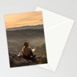 Morning on Starr Mtn Stationery Cards