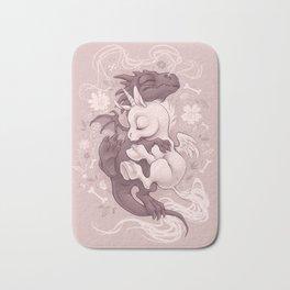 Dragon and Unicorn Bath Mat