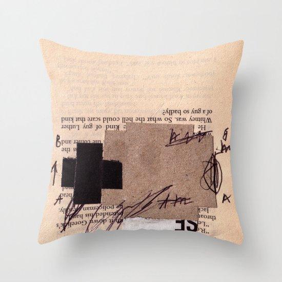 BOOKMARKS SERIES pg 374 Throw Pillow