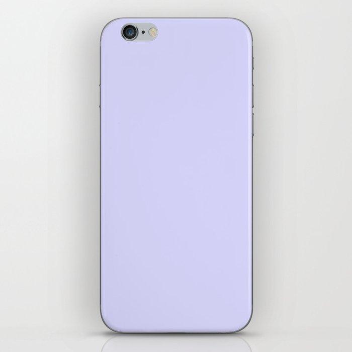 Simply Periwinkle Purple iPhone Skin