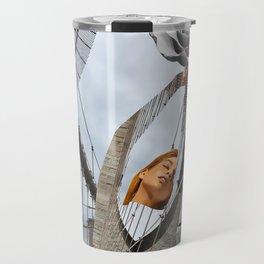 Hold on to your feelings Travel Mug