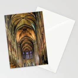 Notre Dame de Paris interior Stationery Cards
