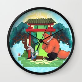 The game of go Wall Clock