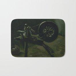 Spinning Wheel Bath Mat