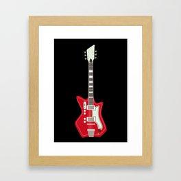 Airline Guitar Framed Art Print