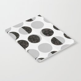 Moon Phases - White Notebook