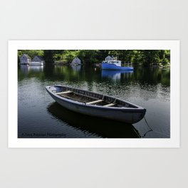 Hackett's Cove Art Print