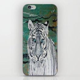 White Tiger iPhone Skin