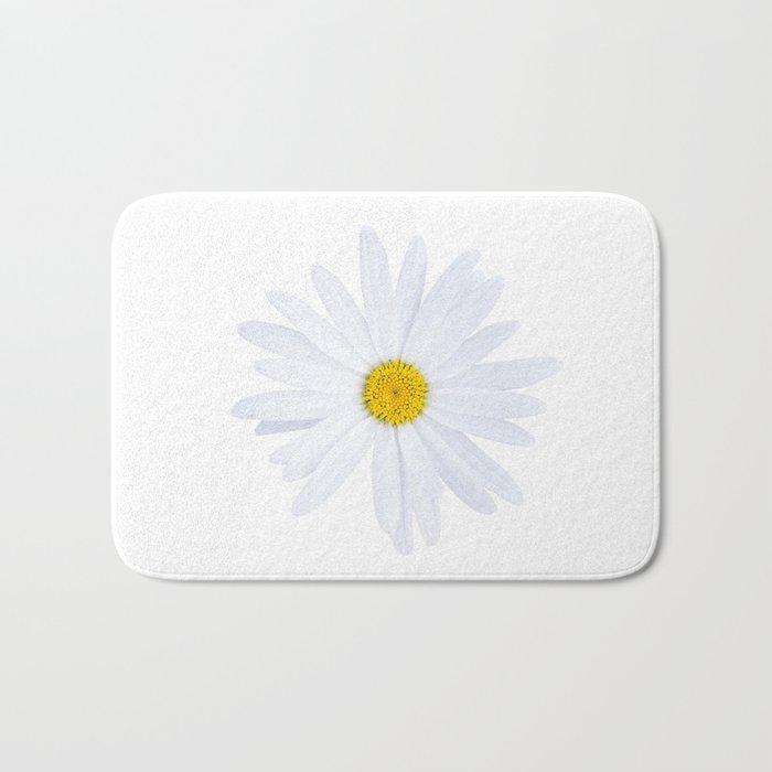 Sunshine Daisy Bath Mat By Peggieprints