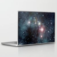outer space Laptop & iPad Skins featuring Outer Space by apgme