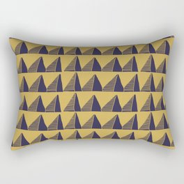 Triangle Tribal Pattern Rectangular Pillow