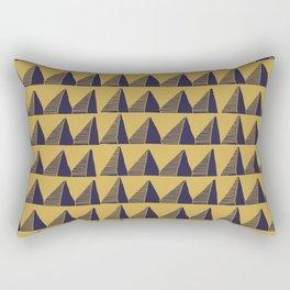 Triangle Tribal Pattern Rectangular Pillow