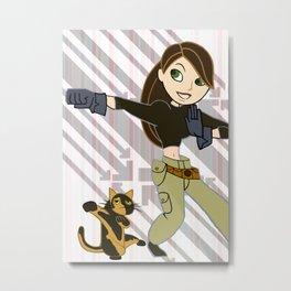 Jane Possible Metal Print