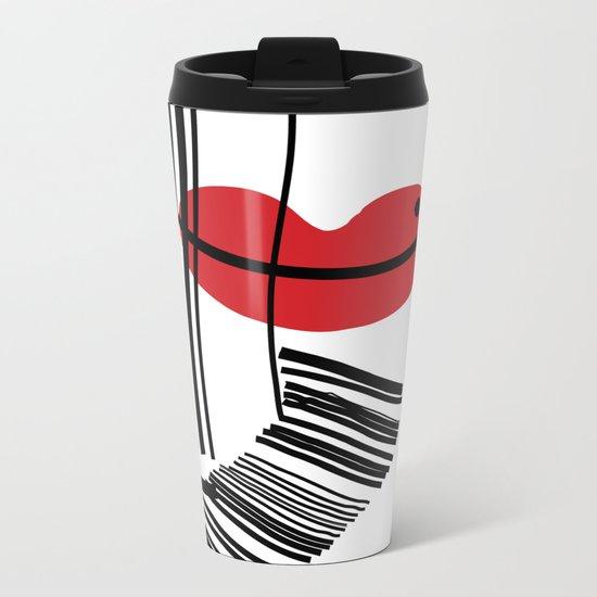 LIP-SYNC Metal Travel Mug