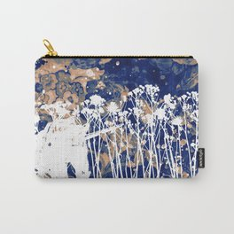 White Unicorn in the forest / Licorne Blanche dans la forêt Carry-All Pouch