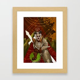 Inquisitor Adaar Framed Art Print