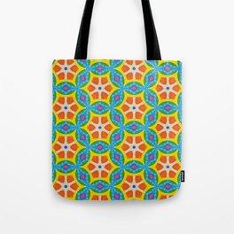 Fruity Retro Tropic Tote Bag