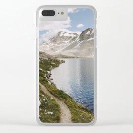 High Sierra Lake Clear iPhone Case