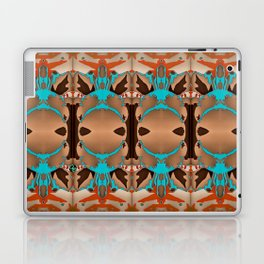 Brown Blue Azalea 1 Laptop & iPad Skin