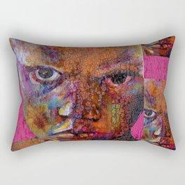 the magician - urban ART Rectangular Pillow