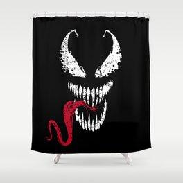 Symbiote Shower Curtain