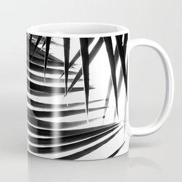 Palm Leaves Black & White Vibes #1 #tropical #decor #art #society6 Coffee Mug