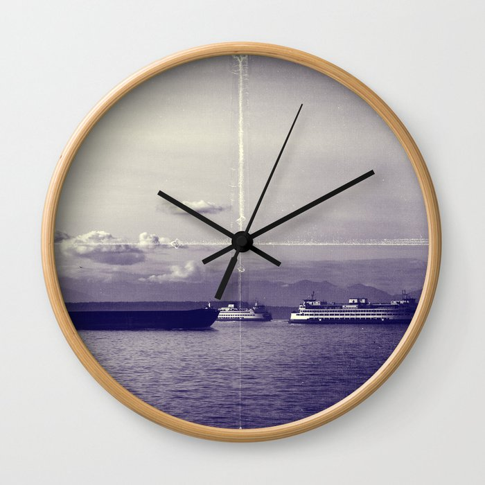Vintage Elliot Bay Wall Clock