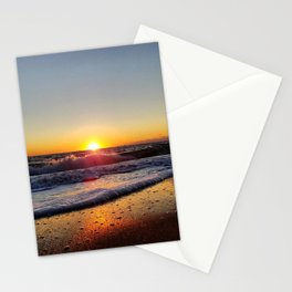 Off-Season Sunset Stationery Cards