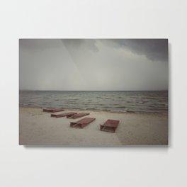 Empty beach 3 Metal Print
