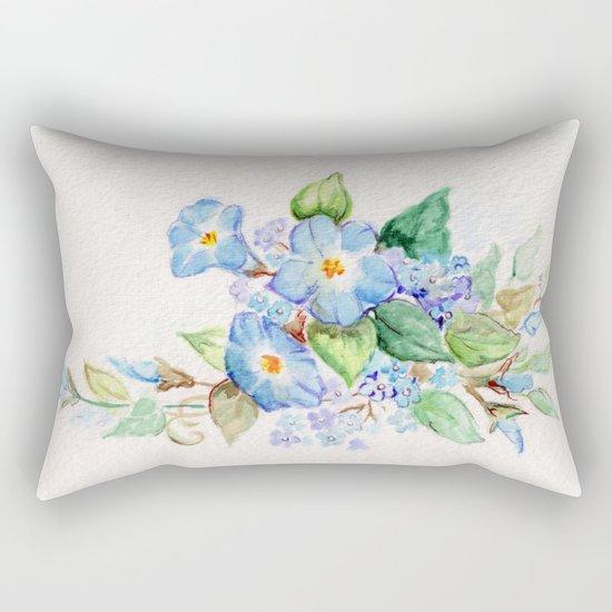 Heavenly Blues Rectangular Pillow